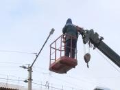 На улицах города Назарово появились «игрушечные» светодиодные фонари