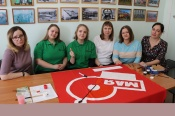Молодые активисты СУЭК присоединились к акции «Знамя Победы»