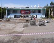 Подрядчикам приходится устранять замечания по благоустройству в городе Назарово