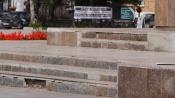 Назаровские подростки разбивают памятники самокатами и велосипедами