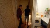 Назаровцы выселили своих соседей из бывшего общежития
