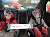 В Назаровском районе инспекторы ГИБДД организовали челлендж «Как ребенку не стать участником ДТП»