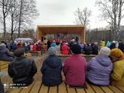 Назаровцы отпраздновали открытие сразу двух общественных пространств