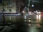 Ещё один перекрёсток в городе Назарово сделали более безопасным