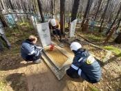 Волонтеры СУЭК помогли сохранить память о назаровском горняке-фронтовике