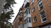 В городе Назарово продолжается капремонт многоквартирных домов