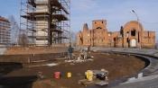 Сроки сдачи Аллеи памяти в городе Назарово перенесли на месяц