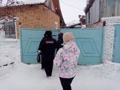 В Назаровском районе в праздники проверили проблемные семьи