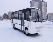 Назаровский общественный транспорт пополнился новым современным автобусом