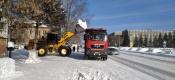 Обильные снегопады и ветреная погода осложняют ситуацию на дорогах. Дорожная служба продолжает работать в усиленном режиме