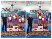 Назаровские юные спортсмены показали отличные результаты на Первенстве края по вольной борьбе