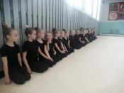 Назаровские гимнастки теперь занимаются в зале с высокими потолками