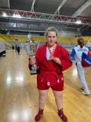 Назаровская спортсменка привезла бронзу по самбо с Первенства Европы