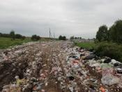 Земли Назаровского района продолжают незаконно использовать как мусорный полигон