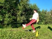 Горняки Назаровского разреза посвятили 20-летию СУЭК турнир по футгольфу