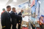 К 70-летию Назаровского разреза в Назарово открылись аллея и музейная выставка