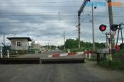 17 сентября движение транспорта через железнодорожный переезд в районе станции Назарово будет закрыто